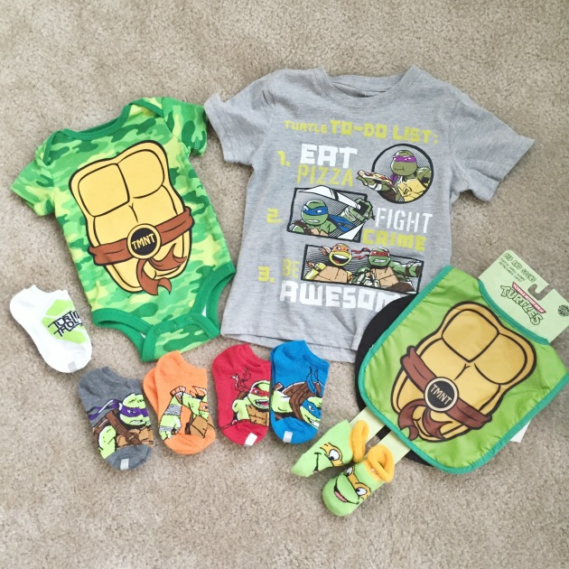 Ninja Turtle Baby Clothes