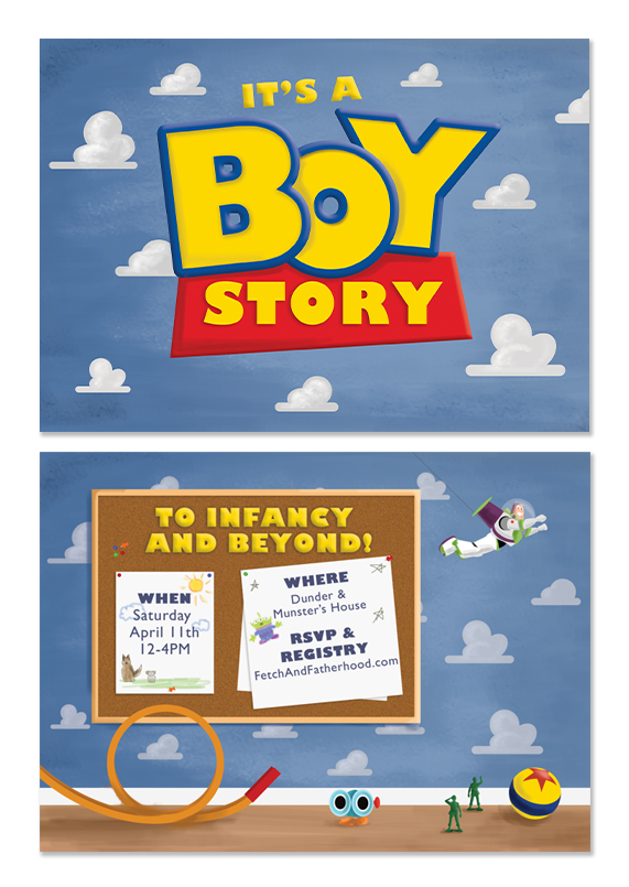 Custom Toy Story Invitations with good invitations template