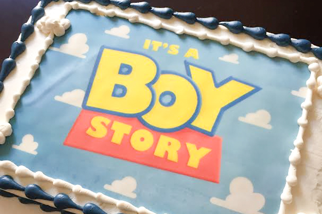toy story themed baby shower